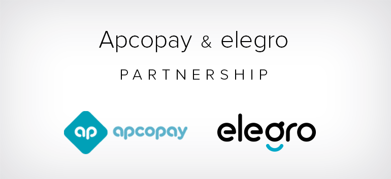 Apcopay launches elegro's Crypto Acceptance for merchants